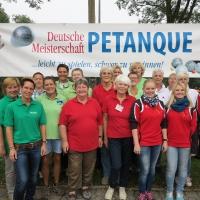 Recklinghausen (NRW) 2014 Deutsche Meisterschaften Frauen Triplette