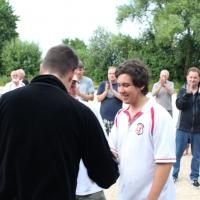 Matthias freut sich über seinen ersten Turniersieg. Herzlichen Glückwunsch.