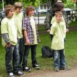 Jugend-Bouleturnier auf der Herrenhäuser Allee