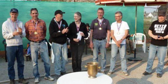 vlnr - Florian B./Helge H., Bernd O./Renate S., Klaus J./Kersetn R.