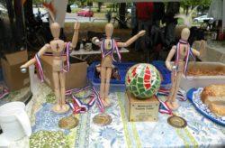 Wanderpokal und Medallien des 10. Femme Fatale