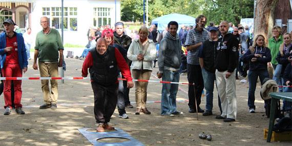 Schießwettbewerb beim Salzsau-Cup in Lüneburg