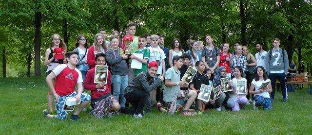 Schulmeisterschaft mit 50 SchülerInnen