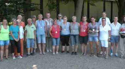 Bezirksmeisterschaft Frauen 2016 bei der SG 74