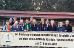Leon Jentsch/Max Stuchlik/Max Koch wurden bei der DM-Jugend Vicemeister