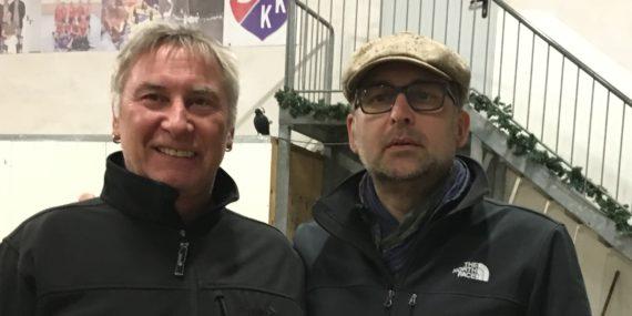 Dirk und Matze bei der Winterrunde