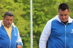 Philippe Quintais und Alban Gambert beim Schwalbe-Turnier