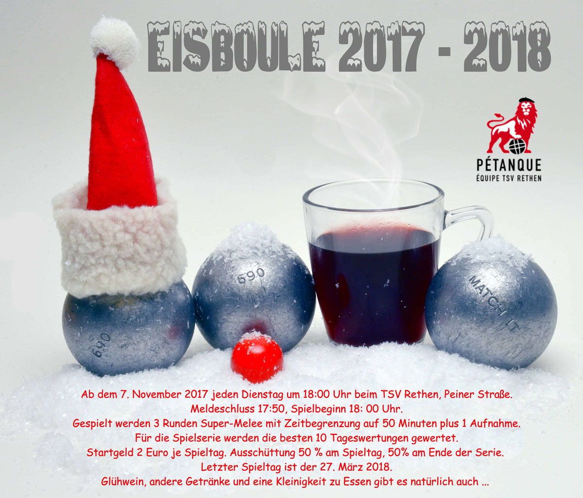 Eisboule 2017 in Rethen