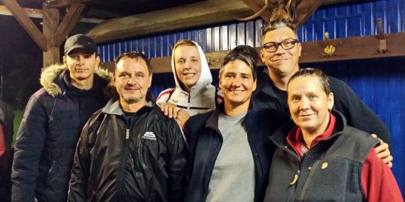 Finalisten Eiszeitterrassenturnier in Koldingen