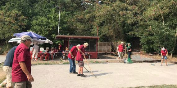 Sanierung der Boulebahnen