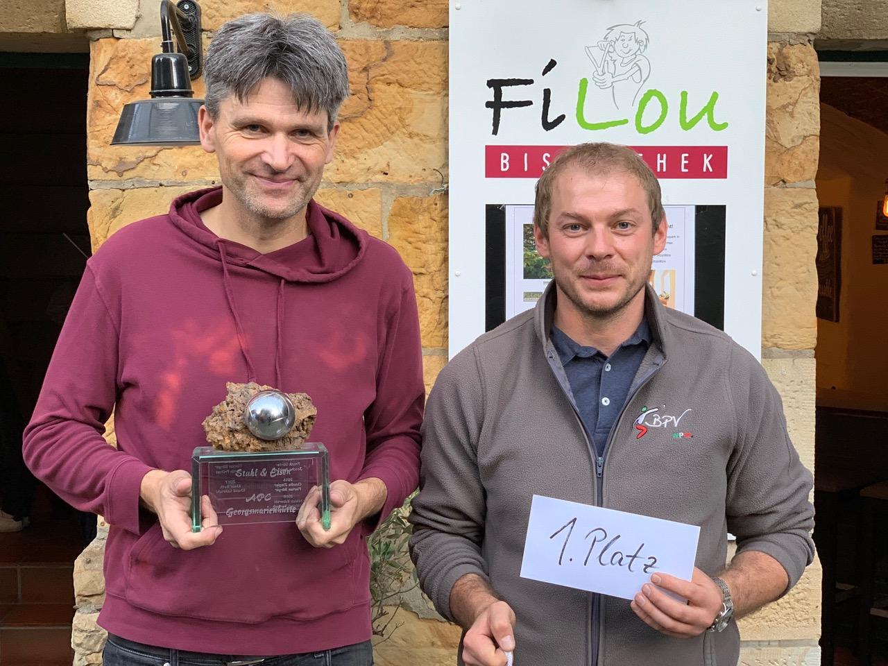 1. Platz Stahl & Eisen Turnier Georgsmarienhütte 2019