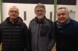 Gluehweinturnier B-Sieger: Hermann Brandes, Victor Friesen und Wolfgang Zikownia